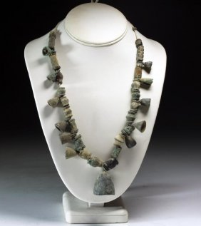 Ancient Central Asian Bronze Necklace