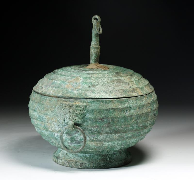 Ancient Chinese Eastern Zhou Bronze Gui