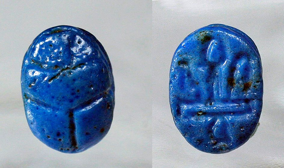 Published Egyptian Scarab in Miniature