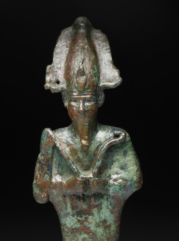Egyptian Bronze Osiris Figure