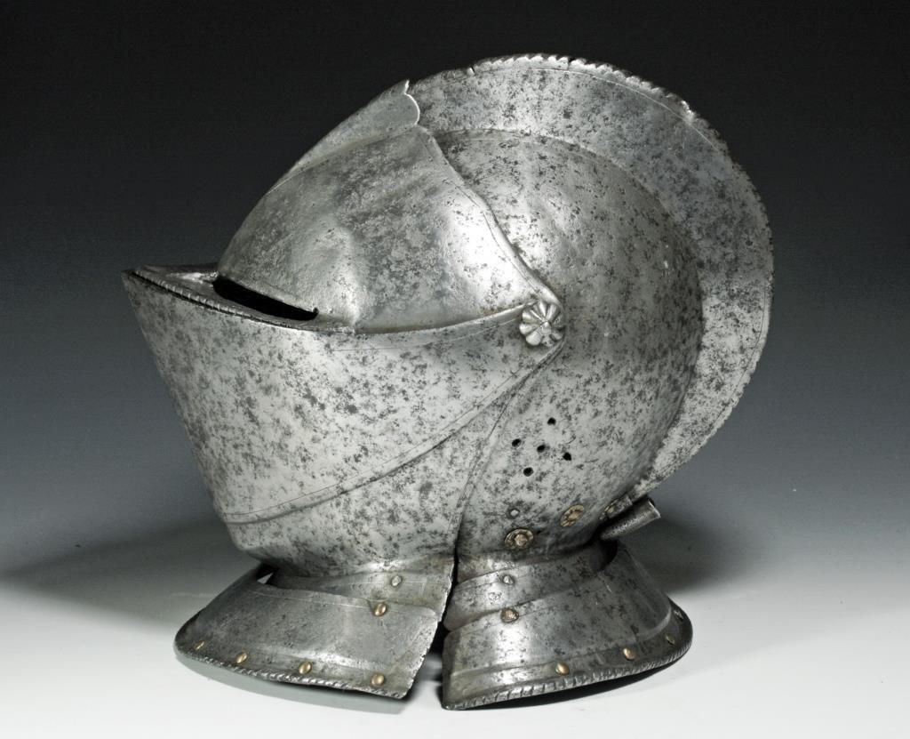German Knight's Close Helmet, Ex-Hermann Historica