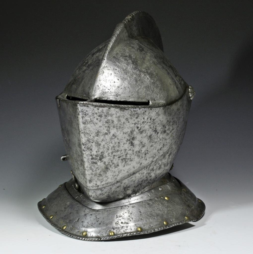 German Knight's Close Helmet, Ex-Hermann Historica - 2