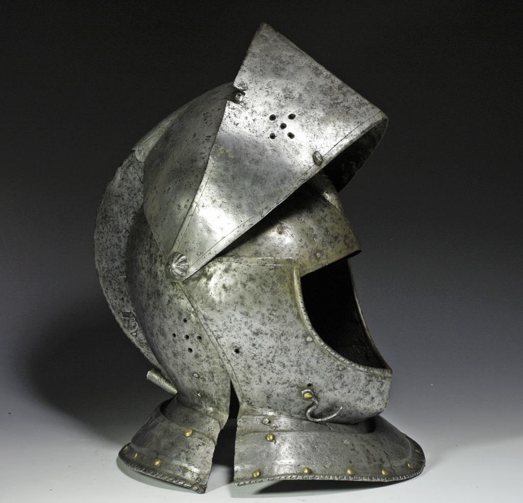 German Knight's Close Helmet, Ex-Hermann Historica - 3