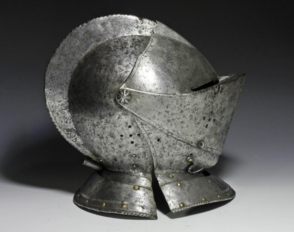 German Knight's Close Helmet, Ex-Hermann Historica - 4