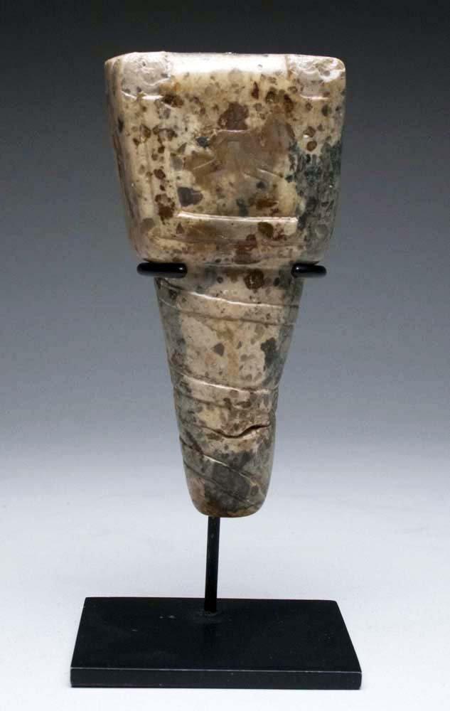 Chavin Ceremonial Stone Scepter of Power