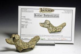 Jackson-Papered Native American Popeye Birdstone