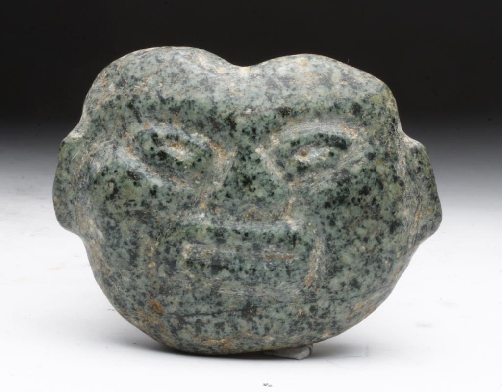 Tlatilco Olmecoid Stone Visage