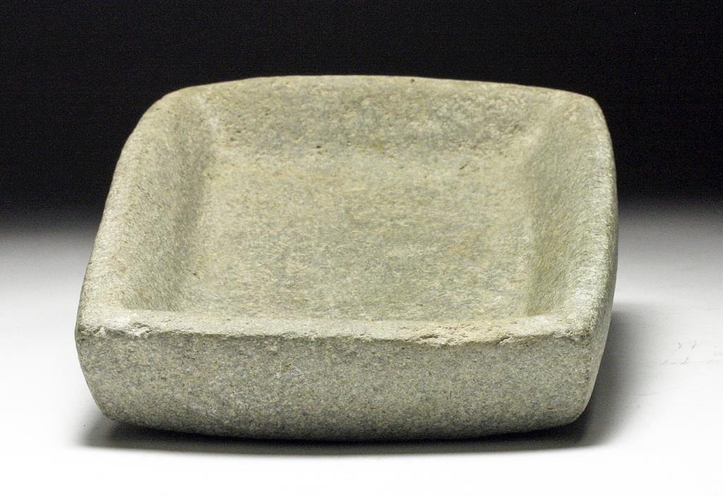 Olmec Stone Hallucinogen Palette