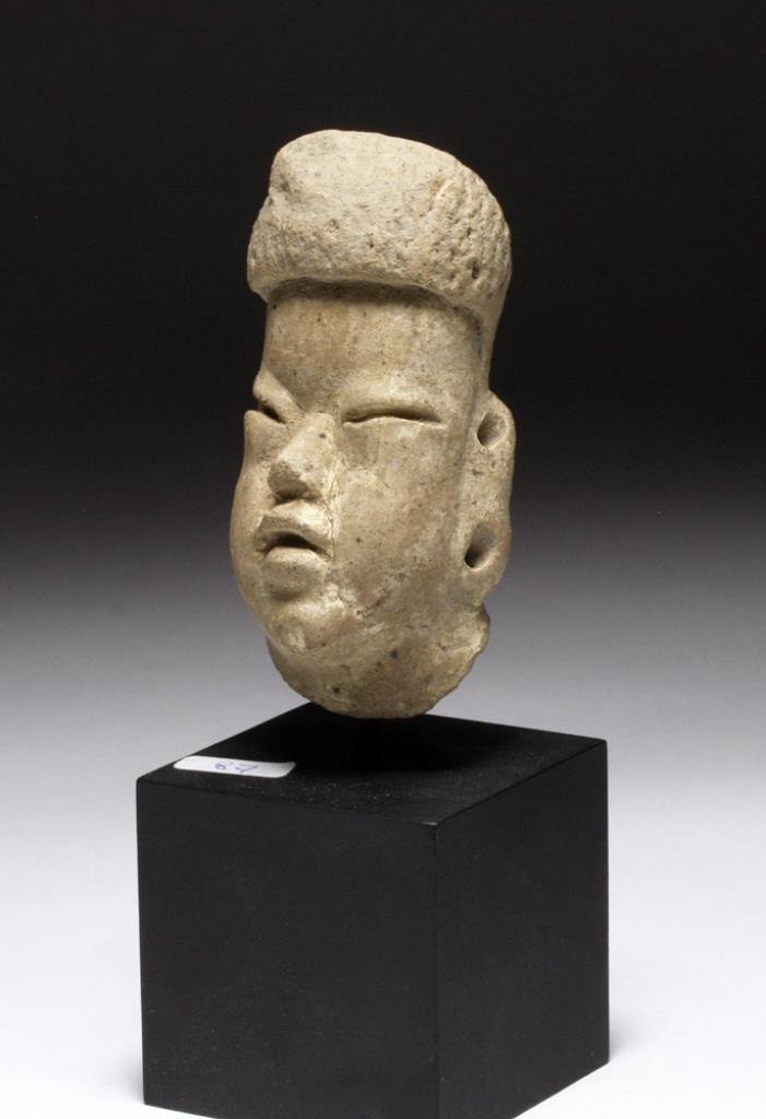Olmec Terracotta Head of Baby