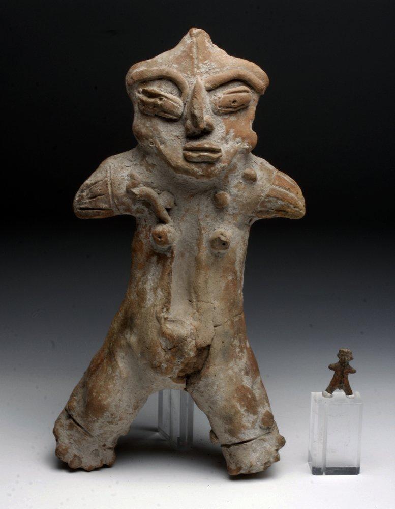 Tlatilco Caesarean Fertility Figure and Miniature