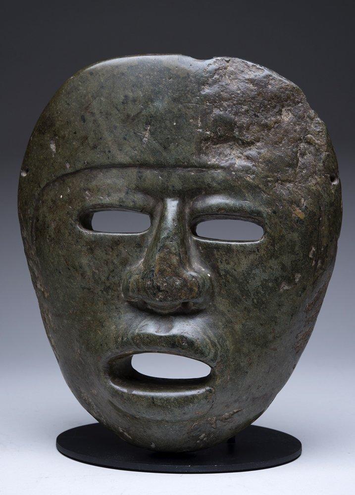 Large Pre-Columbian Chontal Mask
