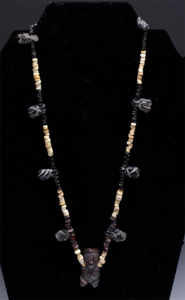Wearable Mezcala Pendant Necklace