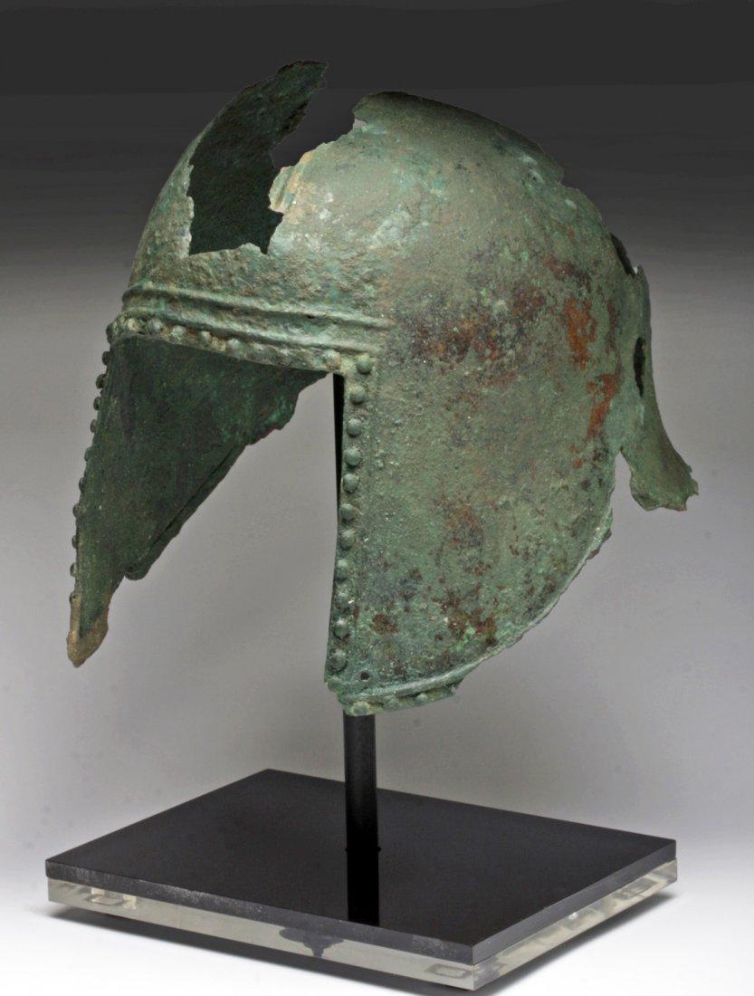 Greek Illyrian Bronze Helmet - 2