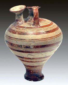 Mycenaean Terracotta Piriform Jar