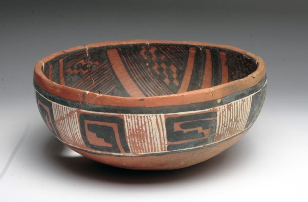 Anasazi Mogollon Polychrome Bowl
