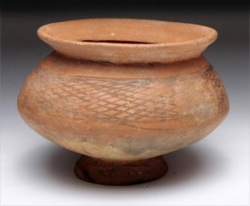A Chinese Neolithic Pedestal Pot