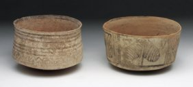 Lot of 2 Indus Valley Bowls
