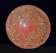 Panamanian Cocle Pedestal Bowl