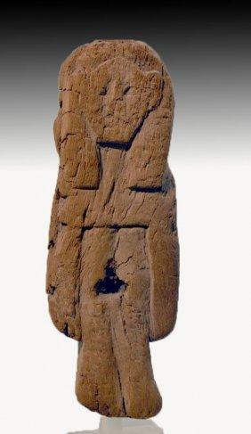 Egyptian Wood Figure of Hathor, ex-Metropolitan Museum