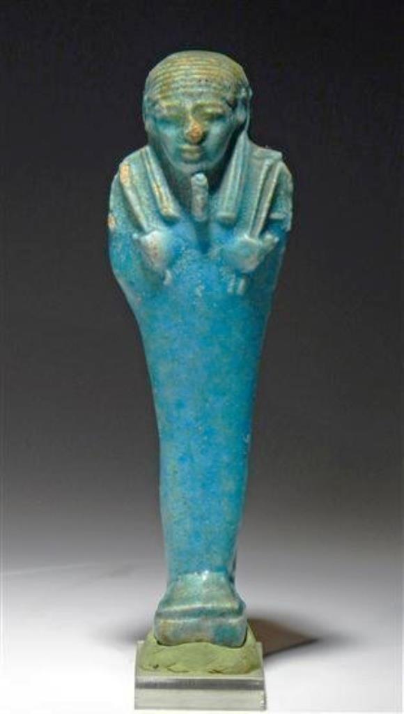 Egyptian 26th Dynastic Faience Ushabti