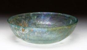 Large Roman Glass Bowl