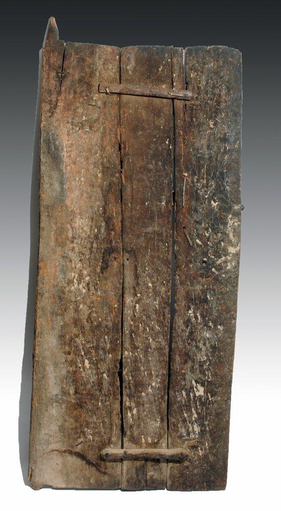 Bamana Wood Granary Door, ex-Carlos Museum - 6