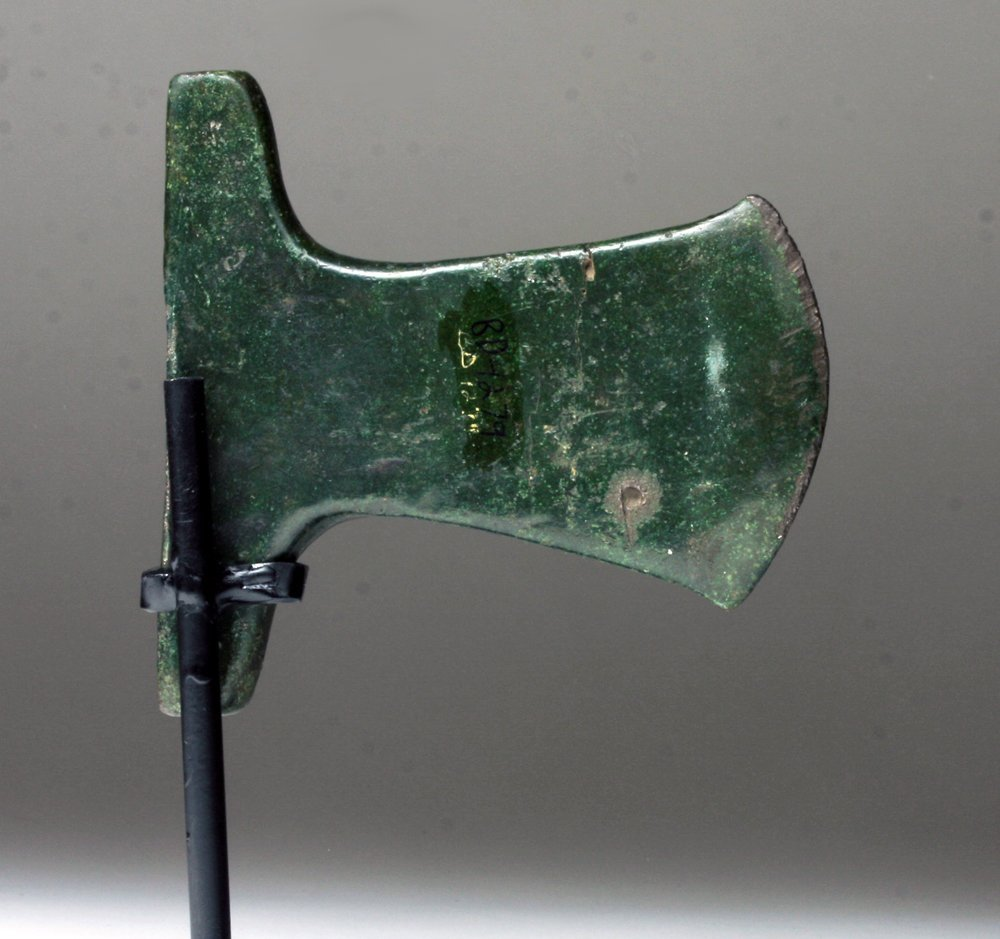 Inca Copper Axe - Superb Patina - 4