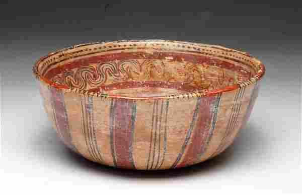Mayan Copador Polychrome Bowl