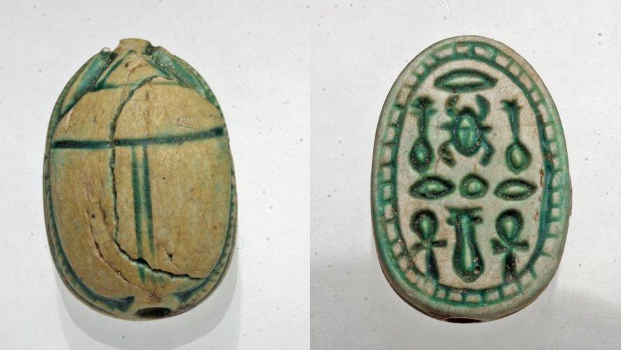 Superb Egyptian Scarab - Ex Mitry