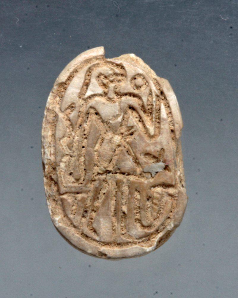 Lot of 3 Egyptian Scarabs, Ex-Mitry - 3