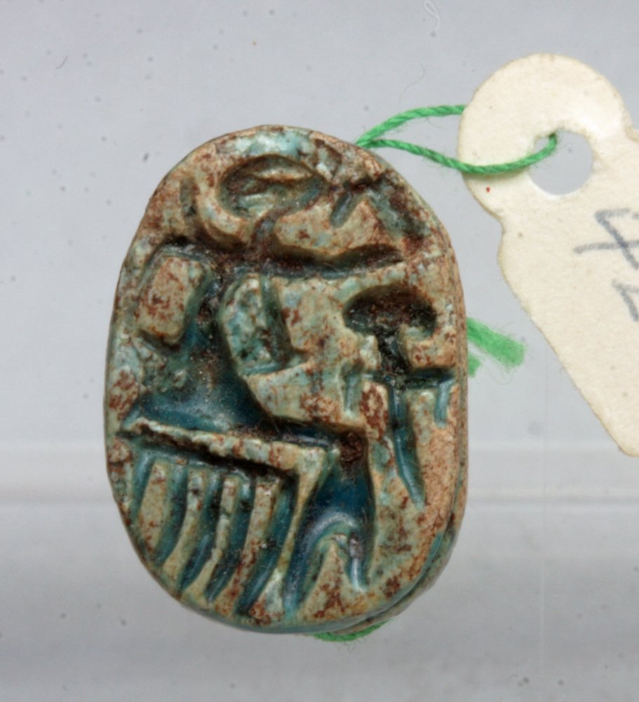 Lot of 3 Egyptian Scarabs, Ex-Mitry - 5