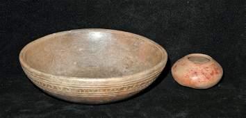 PreColumbian Jalisco Bowls  Two Sizes