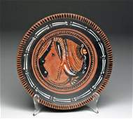 Ancient Greek Apulian Lady of Fashion Plate