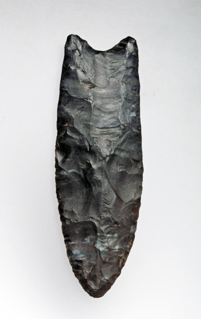 Prehistoric Paleo-Indian Clovis Point
