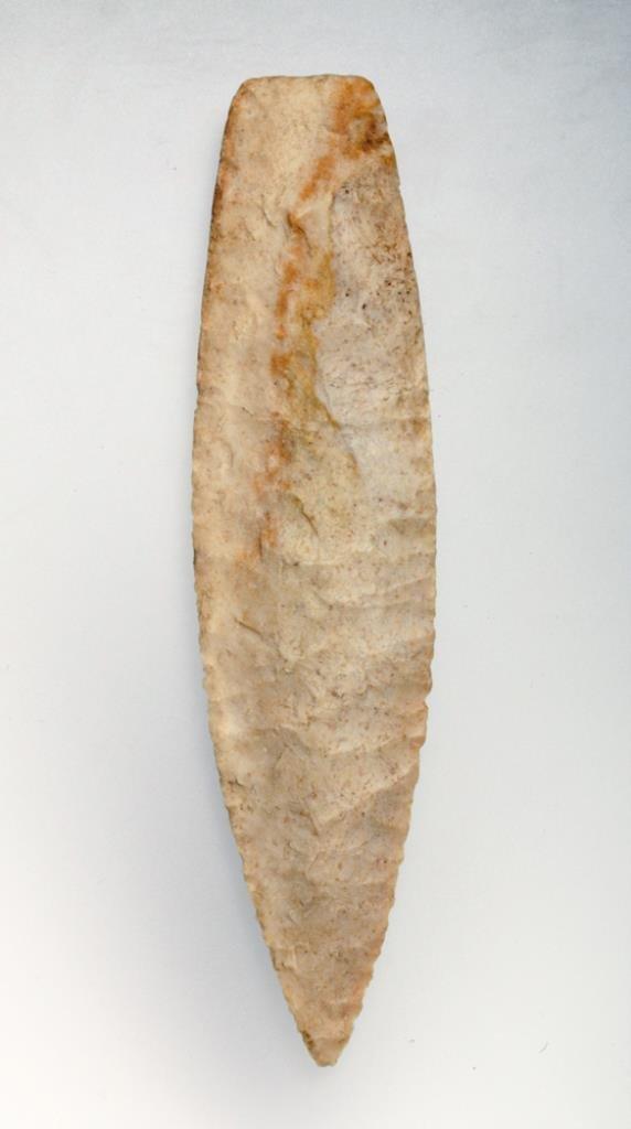 Prehistoric Indian Agate Basin Point