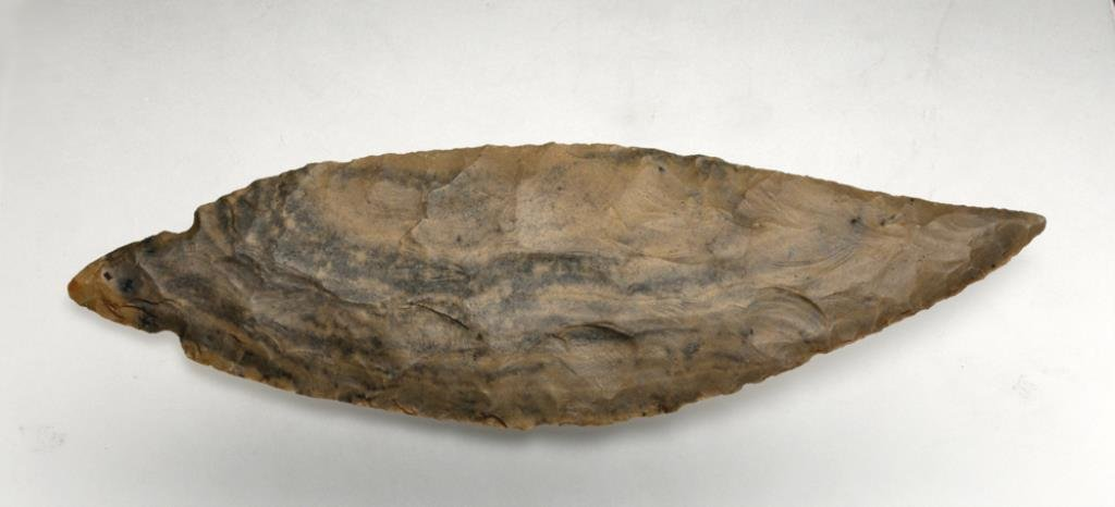 Prehistoric Native American Turkey Tail Blade