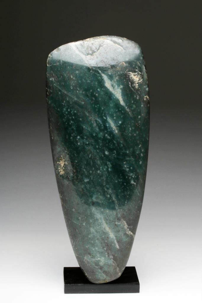 Huge Olmec Jade Celt