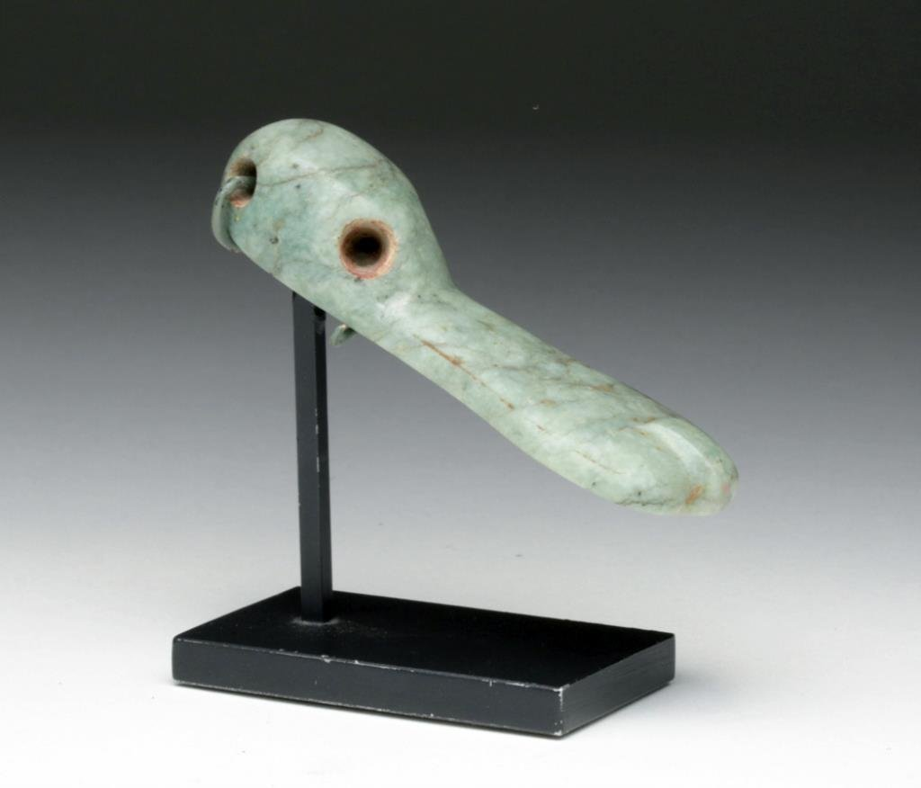 Olmec Stone Duck Pectoral