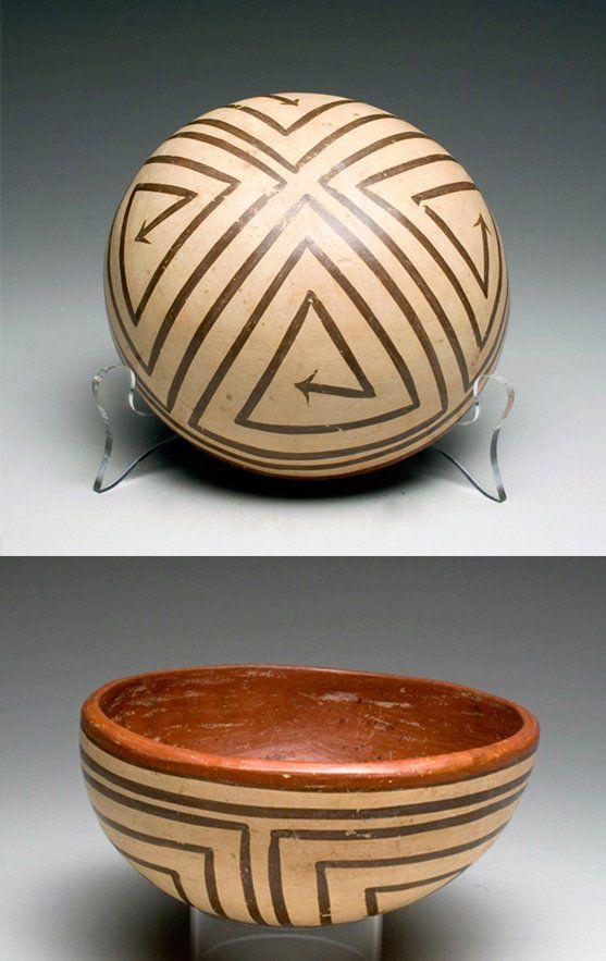 Panamanian Tonosi Polychrome Bowl