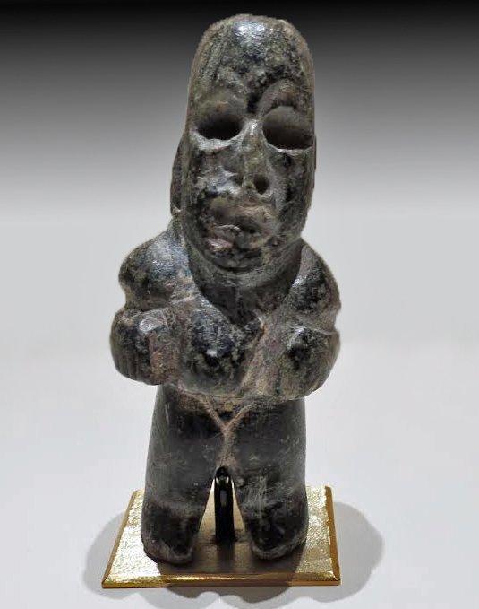 Olmec Stone Hunchback Figure