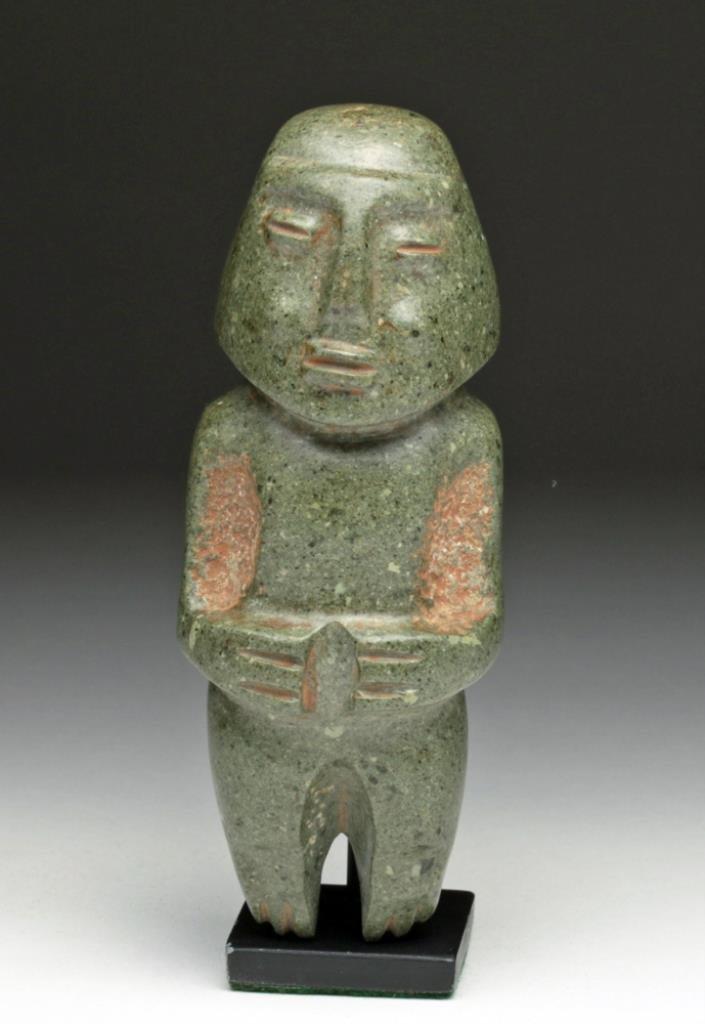 Museum-Quality Chontal Stone Figure