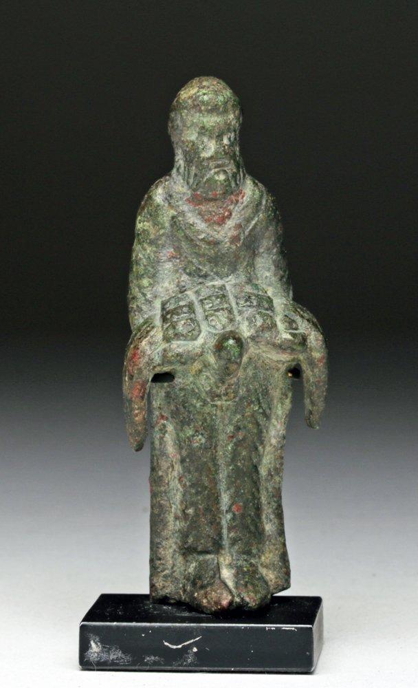 Naughty Roman Bronze Priapus Statue - 2