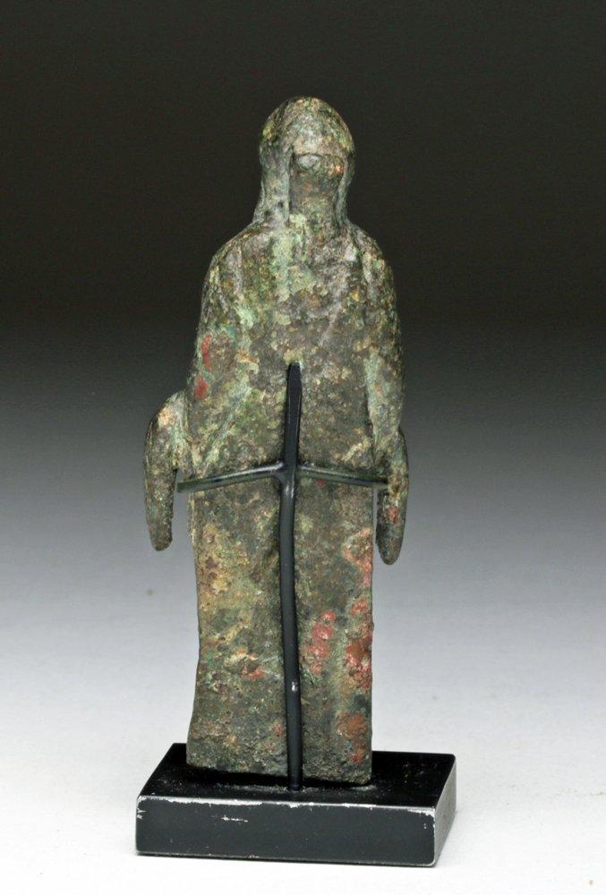 Naughty Roman Bronze Priapus Statue - 3