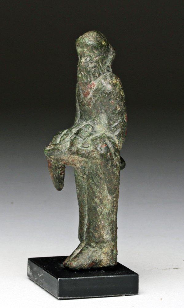 Naughty Roman Bronze Priapus Statue - 4