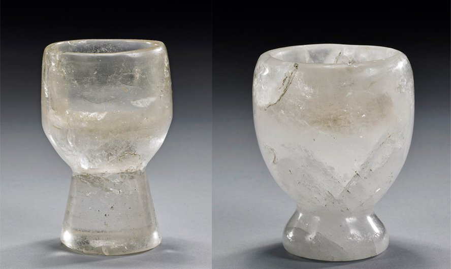 Of 2 ancient bactrian rock crystal goblets lot of 2 ancient bactrian rock crystal goblets reviewsmspy