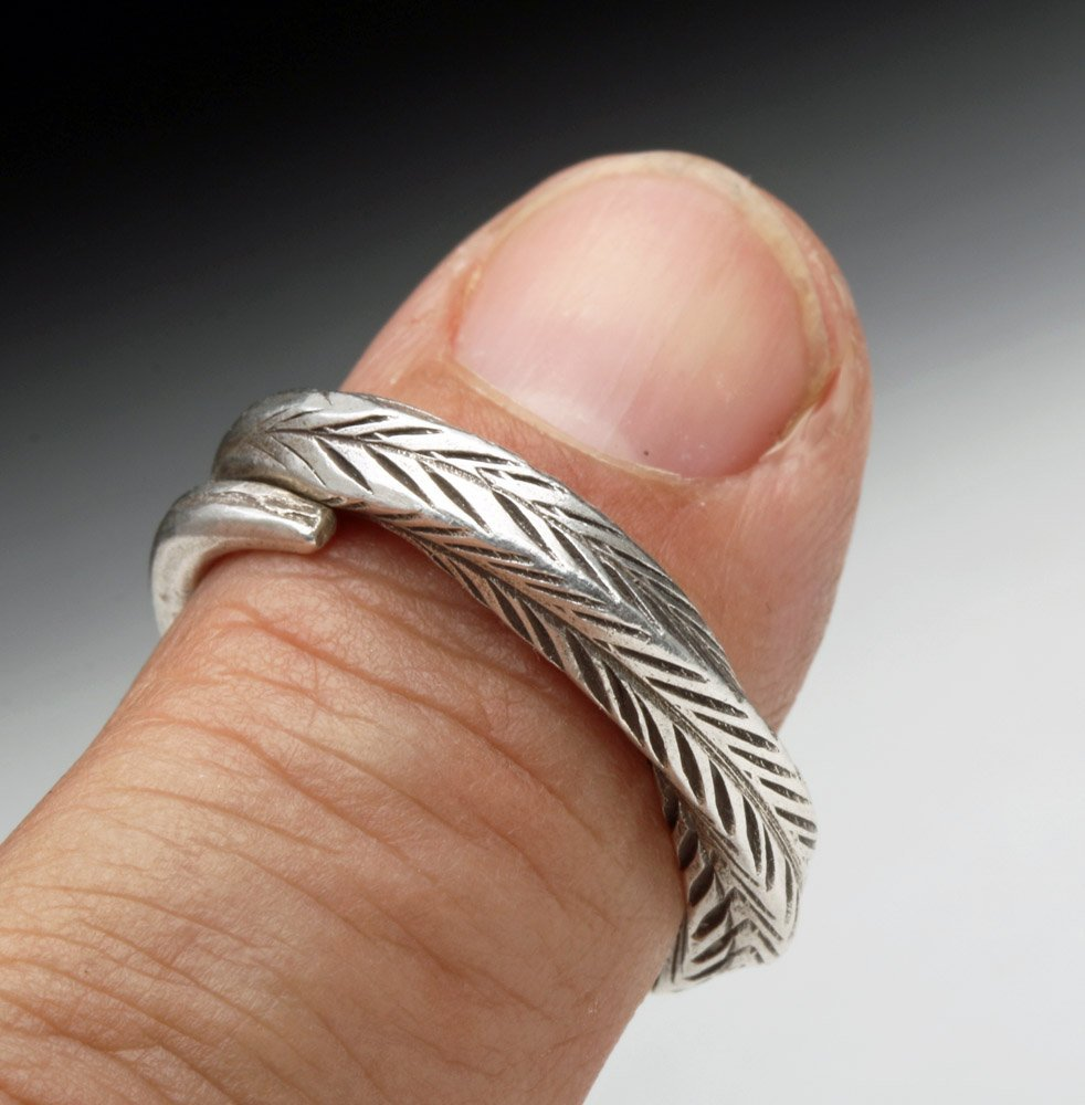 Stunning Viking Silver Ring