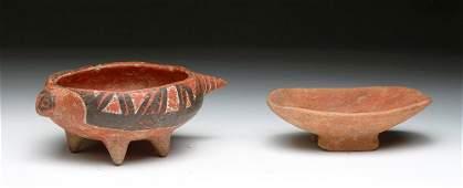 Pr. Panamanian Coclé Saurian Vessels
