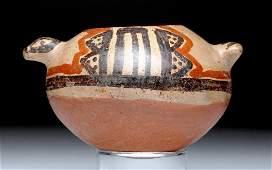 Panamanian Polychrome Olla - Saurian Form
