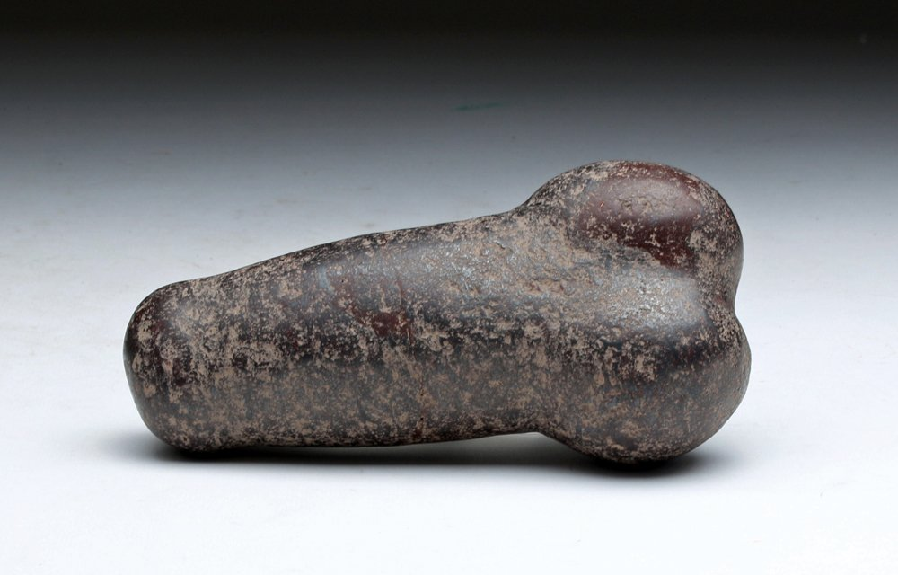 Prehistoric Indian Phallic Stone Carving-5816