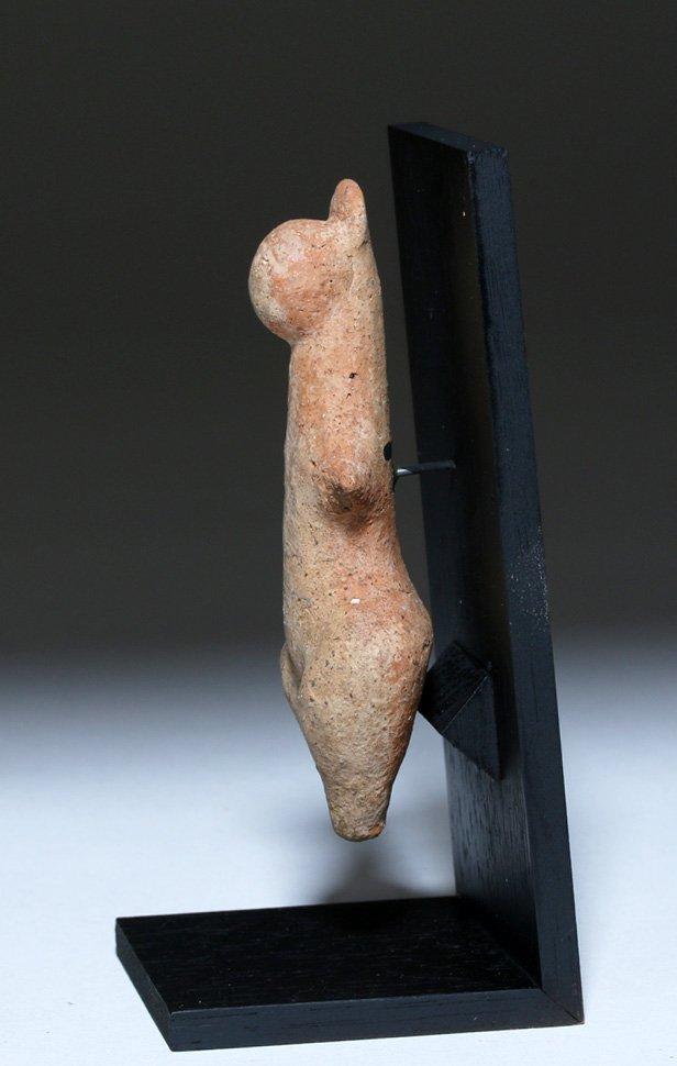 Amlash Terracotta Steatopygous Female Idol - 3